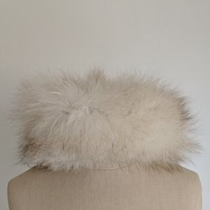 Vintage fur Saks Fifth Avenue cap